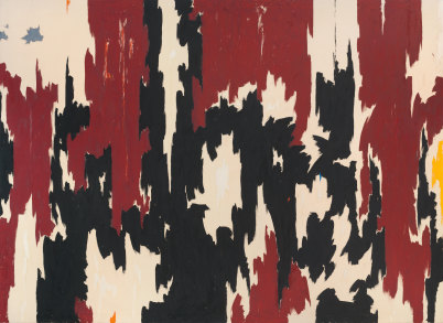 1957 PH 401, courtesy of the Clyfford Still Museum
