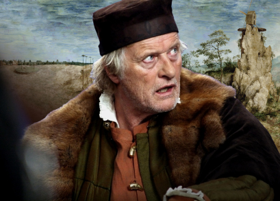 Rutger Hauer as Pieter Bruegel in Lech Majewski's THE MILL & THE CROSS.