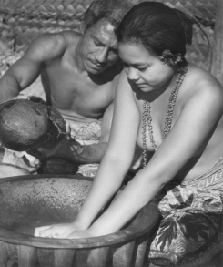 Lupenga and Fa'angase in Kava ceremony, from MOANA WITH SOUND.