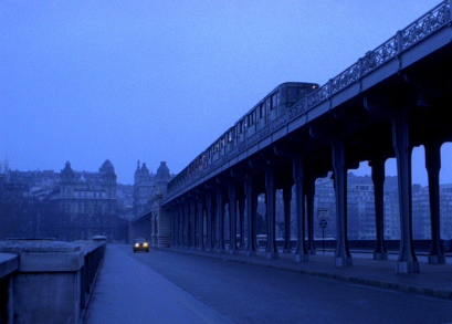 An early morning Parisian scene from Bernardo Bertolucci's THE CONFORMIST. The cinematography is by Vittorio Storaro.