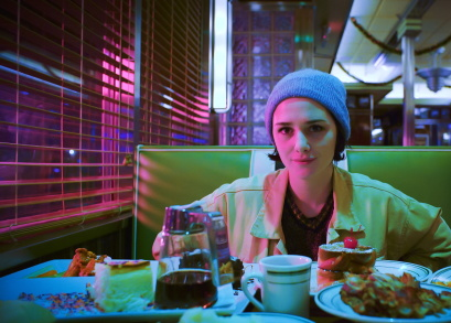 Addison Timlin in a scene from <i>Like Me</i>, courtesy Kino Lorber.