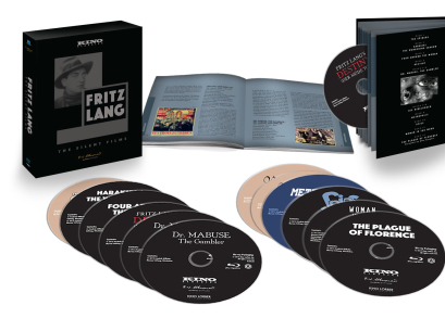 Fritz Lang: The Silent Films (12 Blu-ray Set)