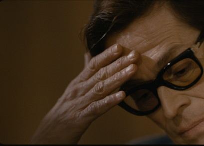 Willem Dafoe in a scene from Pasolini, courtesy Kino Lorber