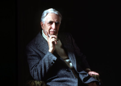 Clyfford Still photographed by Sandra Still Campbell, courtesy of the Clyfford Still Archives