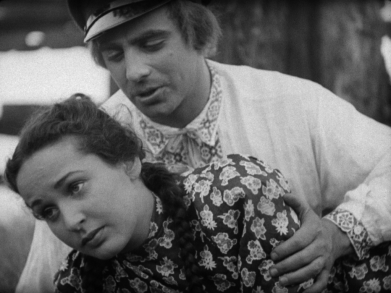 A scene from Maurice Schwartz's TEVYA, part of the JEWISH SOUL collection from Kino Lorber.