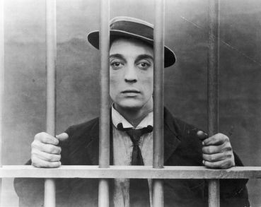 Buster Keaton in THE GOAT (1921).