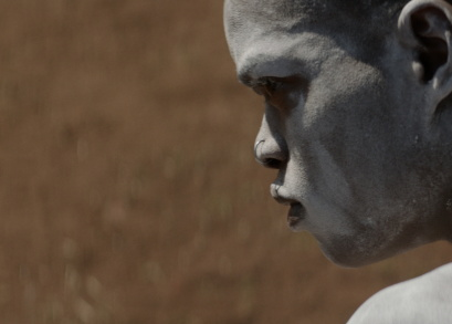 Niza Jay Ncoyini in <i>The Wound</i>, courtesy Kino Lorber