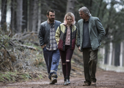 Ewen Leslie (l), Odessa Young (m), Sam Neill (r), The Daughter