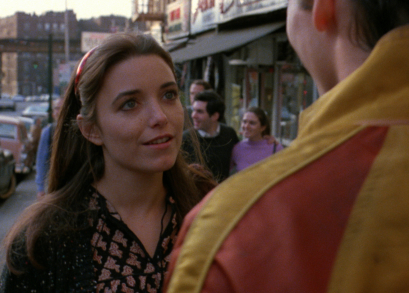 Karen Allen as Nina in THE WANDERERS.