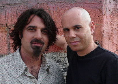 (L to R) Director Scandar Copti and