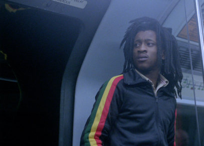 Brinsley Forde as Blue in Franco Rosso's BABYLON.