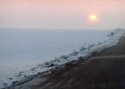A stunning sunrise seen in Bernardo Bertolucci's THE CONFORMIST. The cinematography is by Vittorio Storaro.