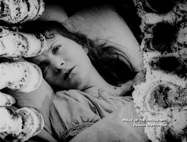 Mae Marsh in <i>Polly of the Circus</i> (1917), one of the films from the Dawson City collection.
