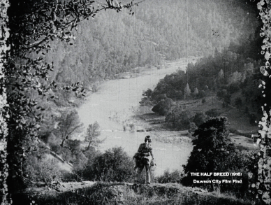 Douglas Fairbanks in THE HALF BREED, one of hundreds of films that are part of the Dawson City Collection.