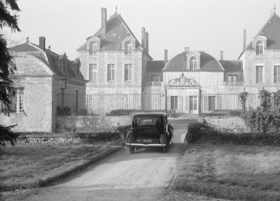 The St. Fiacre estate in MAIGRET AND THE ST. FIACRE CASE.
