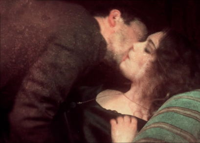 Mathieu Amalric and Ariane Labed in a scene from Guy Maddin's THE FORBIDDEN ROOM.