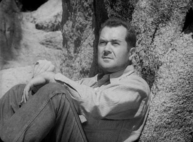 Frank Lovejoy is perhaps best remembered as the quintessential noir everyman, a description that fits his role as Gilbert Bowen in Ida Lupino's THE HITCH-HIKER.