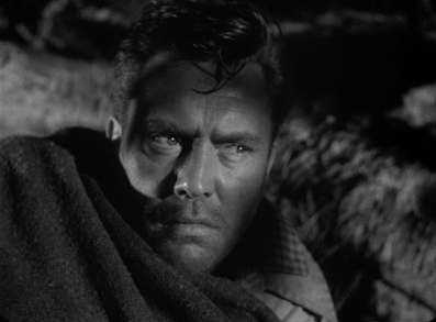 Edmund O'Brien, a veteran of many a film noir, here plays Roy Collins in Ida Lupino's THE HITCH-HIKER.