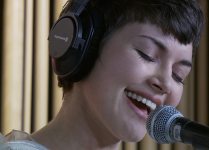 Maia Vidal in LA MAISON DE LA RADIO, a film by Nicolas Philibert.