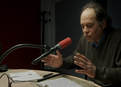 Jean-Claude Carriere in LA MAISON DE LA RADIO, a film by Nicolas Philibert.