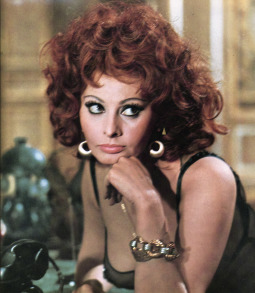 Sophia Loren in Marriage Italian Style.