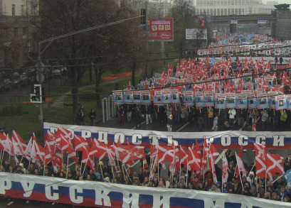 Nashi demonstration for the friends of
