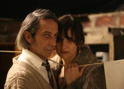 Alfredo Castro and Antonia Zegers in Post Mortem.