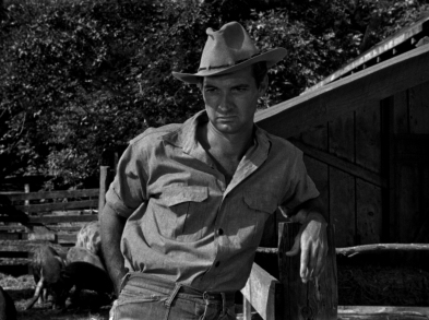 Zachary Scott in Jean Renoir's THE SOUTHERNER (1945).