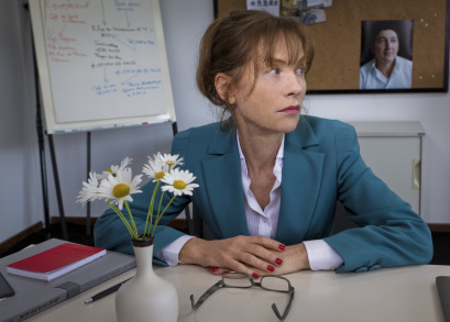 Isabelle Huppert as Esther Lafarge in TIP TOP, a film by Serge Bozon.