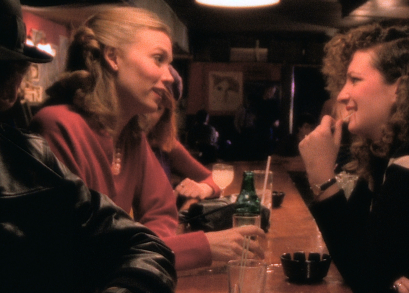 Sandy McLeod and Nan Goldin in Bette Gordon's VARIETY.