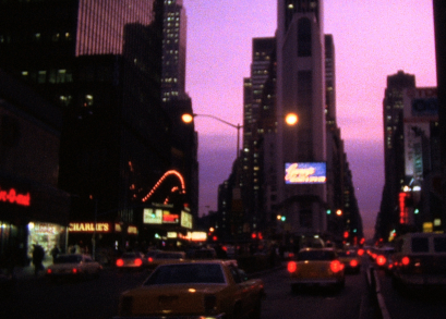 Times Square at dusk in Bette Gordon's VARIETY.