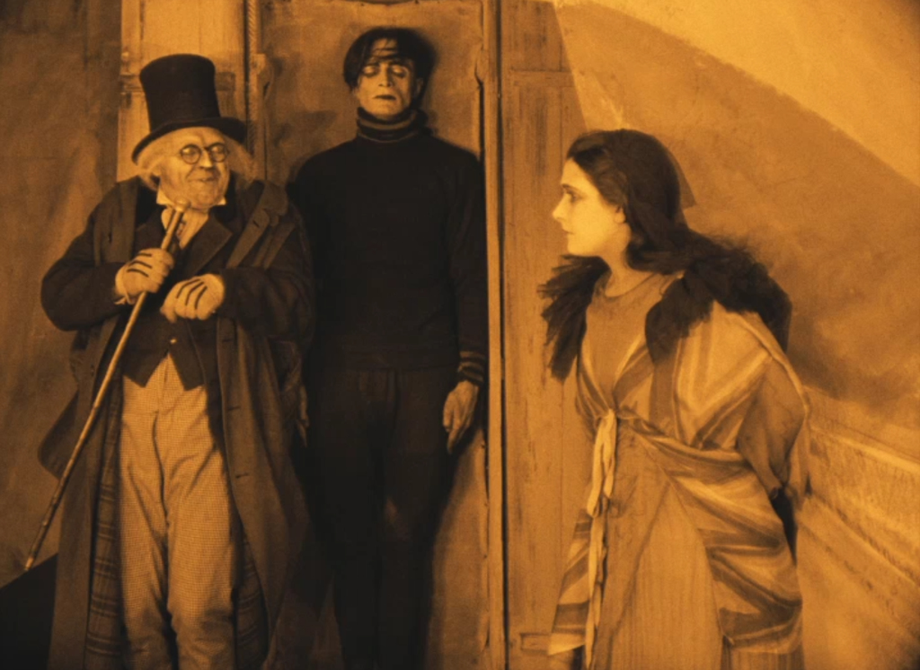 an analysis of the movie the cabinet of dr caligari directed by robert weine The cabinet of dr caligari and german expressionism- mise-en-scene weine's film has often been cited as the epitome of the the cabinet of dr caligari.