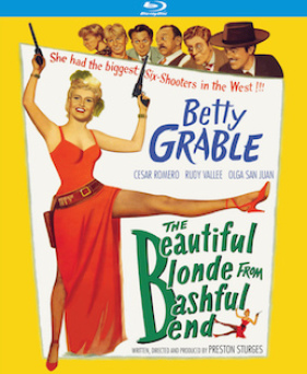 The Beautiful Blonde From Bashful Bend - Kino Lorber Theatrical