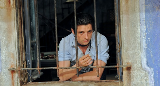 Raphaël Personnaz as Marius in MARIUS, a film by Daniel Auteuil.