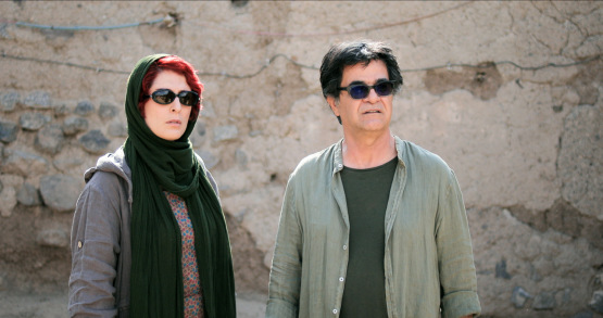 Behnaz Jafari & Jafar Panahi in a scene from <i>3 Faces</i>, courtesy Kino Lorber