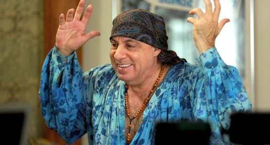 Steven Van Zandt. Photo courtesy Rezolution Pictures / Kino Lorber.