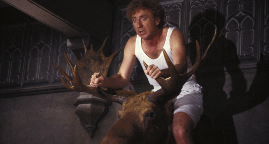 Gene Wilder in Haunted Honeymoon