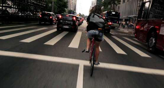 Still from Bikes v Cars