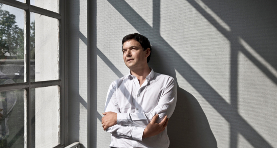 Thomas Piketty, author of Capital in the Twenty-First Century, courtesy Kino Lorber