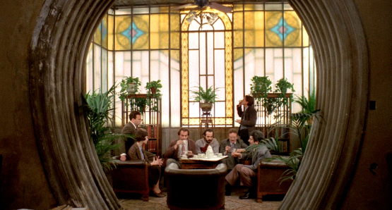 A group of socialist academics meet at the home of Professor Quadri (Enzo Tarascio) in Bernardo Bertolucci's THE CONFORMIST.