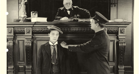 Buster Keaton in DAYDREAMS (1922)
