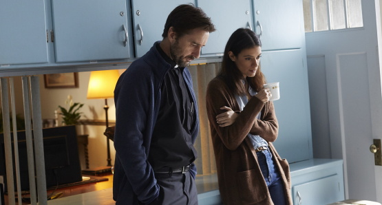 Luke Wilson and Laysla De Oliveira in a scene from <i>Guest of Honour</i>, courtesy Kino Lorber