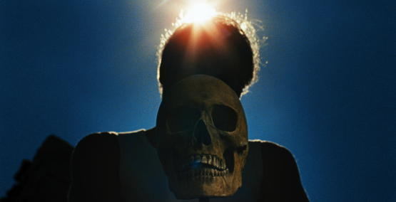 A scene from <i>Let the Corpses Tan</i>, courtesy of Kino Lorber