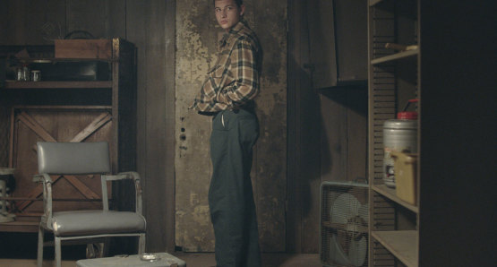 Tye Sheridan in a scene from <i>The Mountain</i>, courtesy Kino Lorber