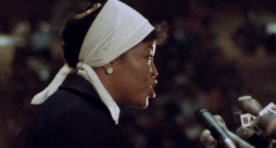 Dr. Betty Shabazz in a scene from <i>Nationtime</i>, courtesy Kino Lorber
