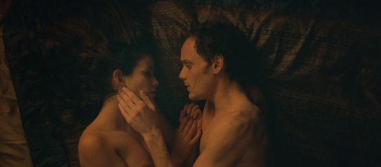 Lucie Lucas and Anton Yelchin in a scene from <i>Porto</i>, courtesy Kino Lorber