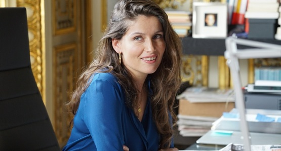 Laetitia Casta in a scene from <i>A Faithful Man</i>, courtesy Kino Lorber