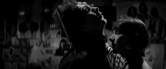 A Girl Walks Home Alone At Night Arash Marandi (l) Sheila Vand (r)