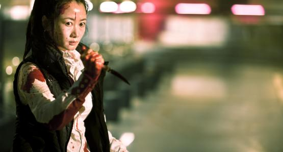 Zhao Tao as Xiao Yu in A TOUCH OF SIN, a film by Jia Zhang-Ke.