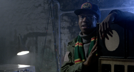 Brian Bovell as Scientist in Franco Rosso's BABYLON.